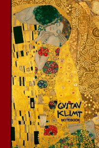 gustav klimt notebook the kiss