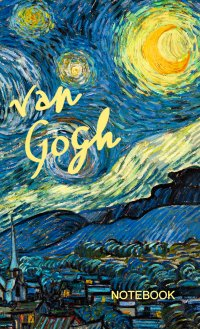 van gogh notebook starry night