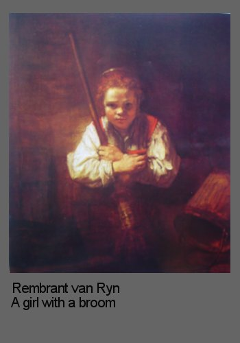 Composition in portraits demonstrated by Rembrant