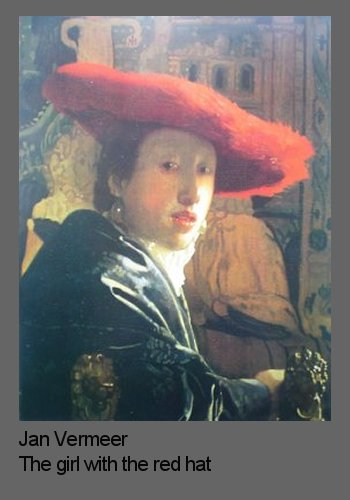 vermeer s hat For brook, vermeer's pictures, which seem so intimate, actually offer a  remarkable view of a rapidly expanding world the officer's dashing hat is made  of.