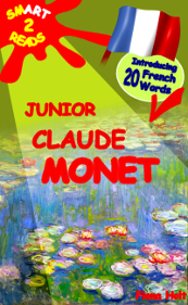 Learn 20 French Words with Kindle book Junior Claude Monet