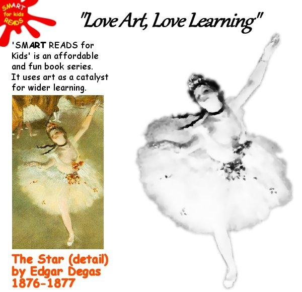 Color in Degas the Star for Kids / Children