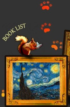 Van Gogh's stary night link to children's Art book list